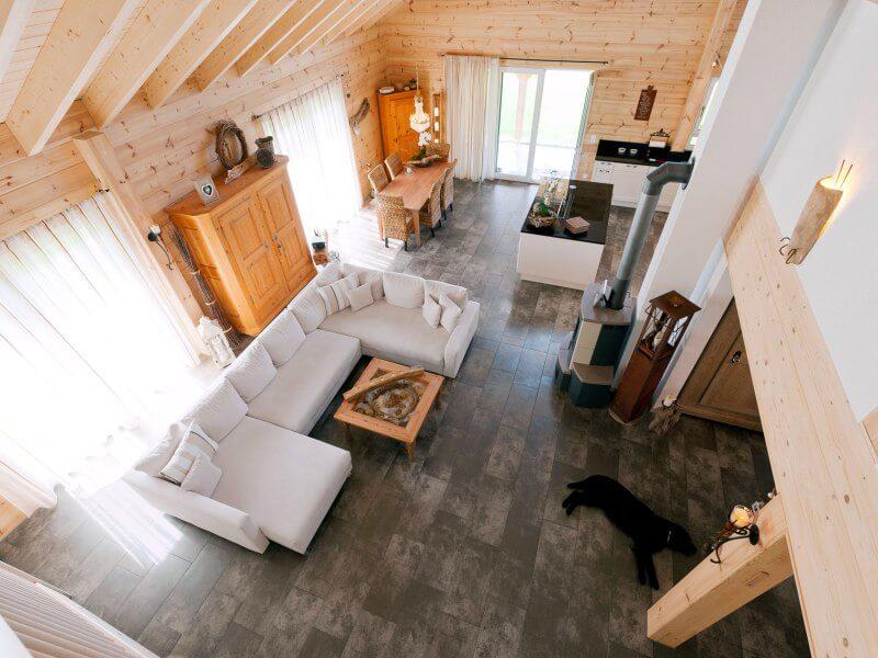 Hausvorstellung Fullwood Holzhaus Kiefernherz