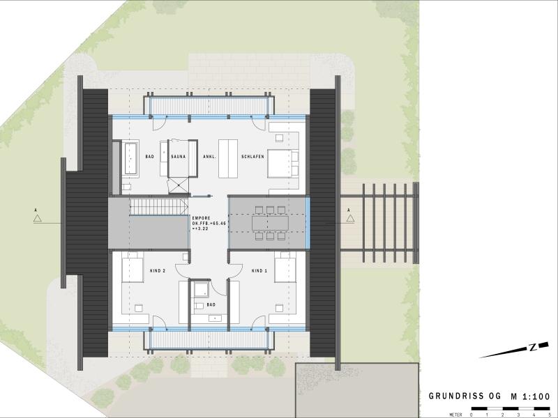 Musterhaus grundrisse haus  HUF HAUS Musterhaus Köln - ART 5 green[r]evolution