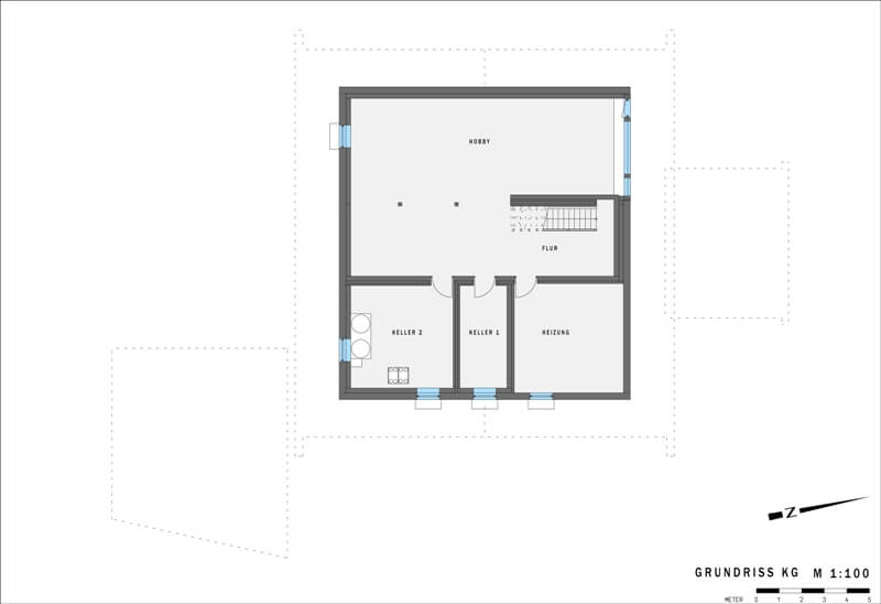 2 platz plusenergieh user art 5 von huf haus. Black Bedroom Furniture Sets. Home Design Ideas
