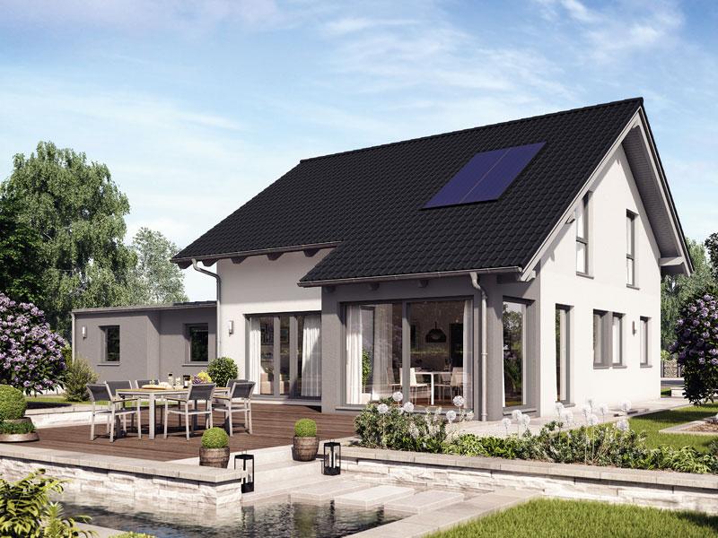 fertighaus von hanse haus variant 35 154. Black Bedroom Furniture Sets. Home Design Ideas