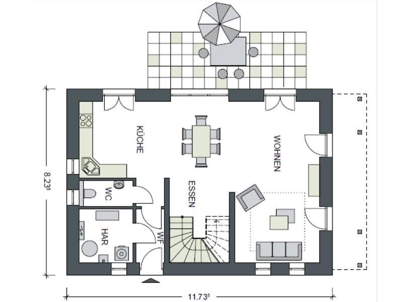 massive h user von heinz von heiden haus ecop3. Black Bedroom Furniture Sets. Home Design Ideas