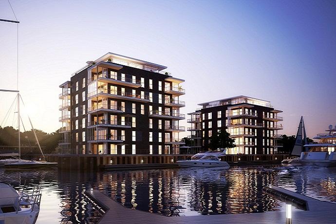 heinz von heiden wohnen am yachthafen in cuxhaven. Black Bedroom Furniture Sets. Home Design Ideas