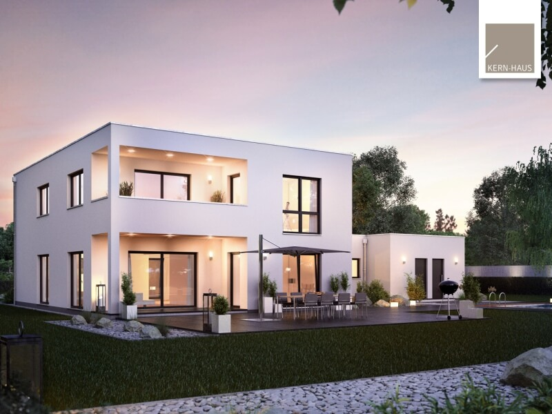Massivhaus von kern haus bauhaus ixeo for Bauhaus haus
