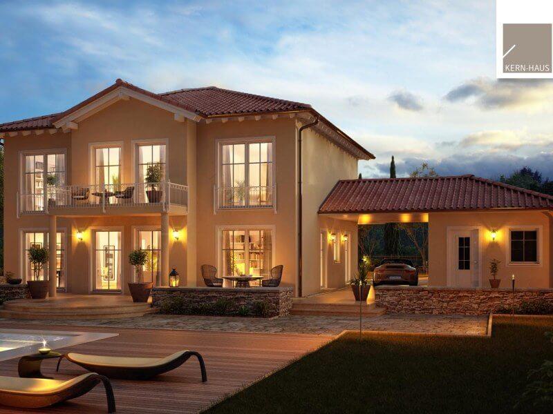 stadtvilla von kern haus haus aurelio. Black Bedroom Furniture Sets. Home Design Ideas