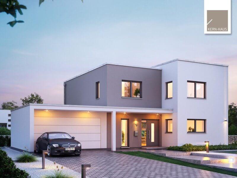Modernes Massivhaus von Kern-Haus - Futura Bauhaus