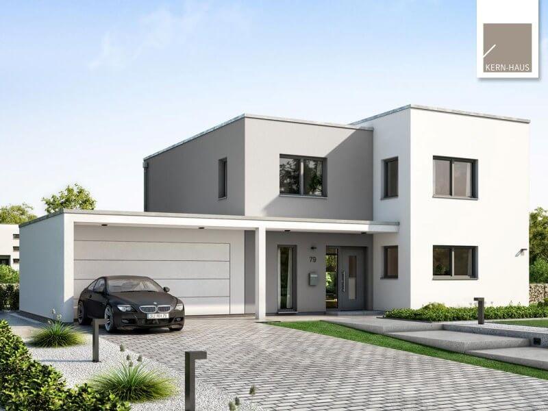 Massivhaus Von Kern Haus Futura Bauhaus
