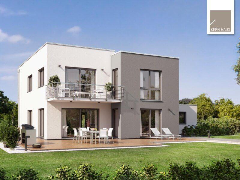 massivhaus von kern haus futura bauhaus. Black Bedroom Furniture Sets. Home Design Ideas