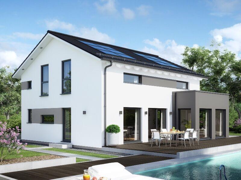Schn Satteldach Modern ...