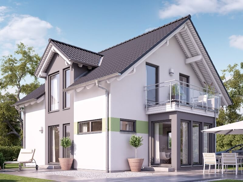 Fertighaus Von Living Haus Solution 125 V4