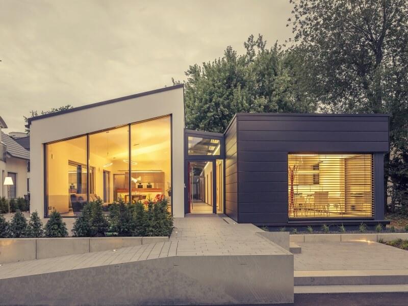 2 platz kategorie bungalow luxhaus musterhaus fellbach. Black Bedroom Furniture Sets. Home Design Ideas