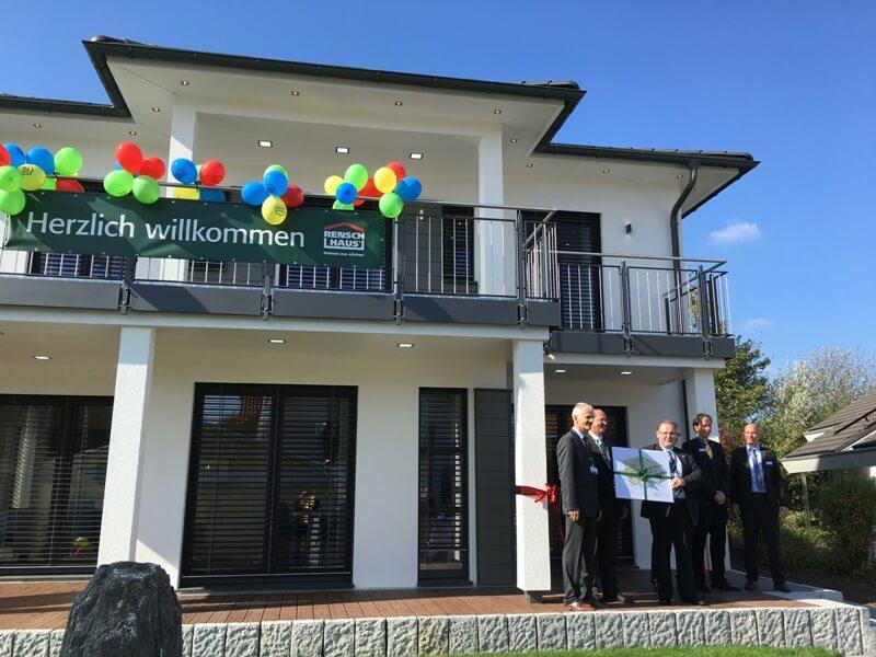 Musterhaus Eröffnung RENSCH HAUS Musterhaus Montana