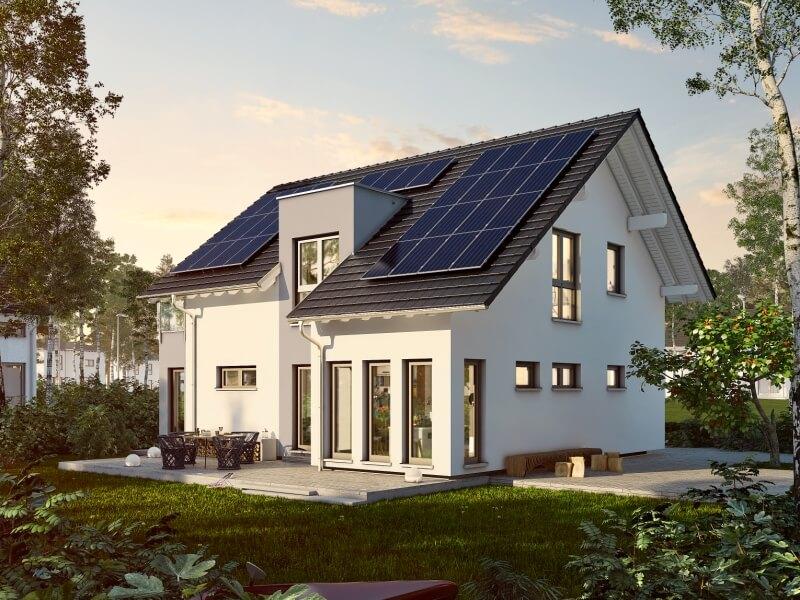klassisches fertighaus von okal haus revolution plus 165 v1. Black Bedroom Furniture Sets. Home Design Ideas