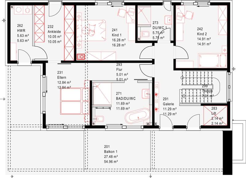 1 platz kundenhaus erbach von okal haus. Black Bedroom Furniture Sets. Home Design Ideas