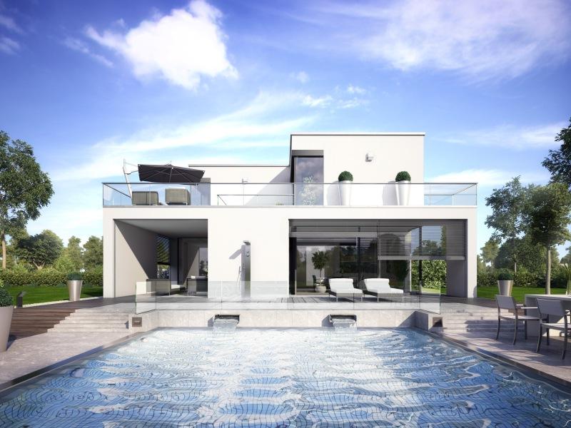 Hausbau design award 1 platz plusenergieh user haus wuppertal - Okal bungalow ...