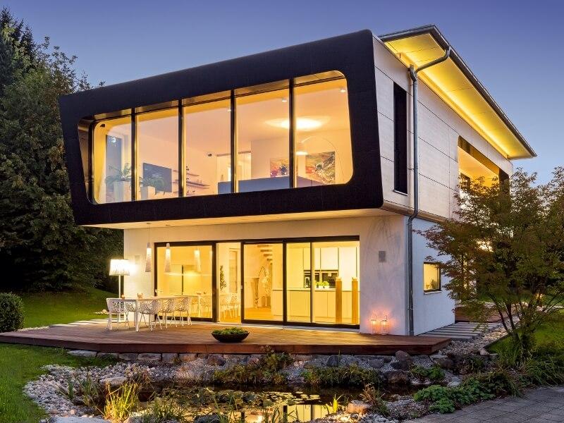top fertighaus von regnauer hausbau haus ambienti. Black Bedroom Furniture Sets. Home Design Ideas