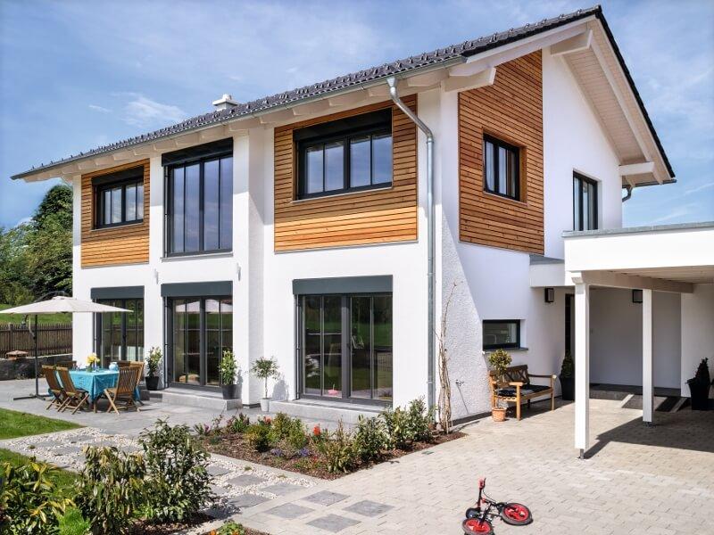 Hausbau modern satteldach  Gewinner des Hausbau Design Awards 2015
