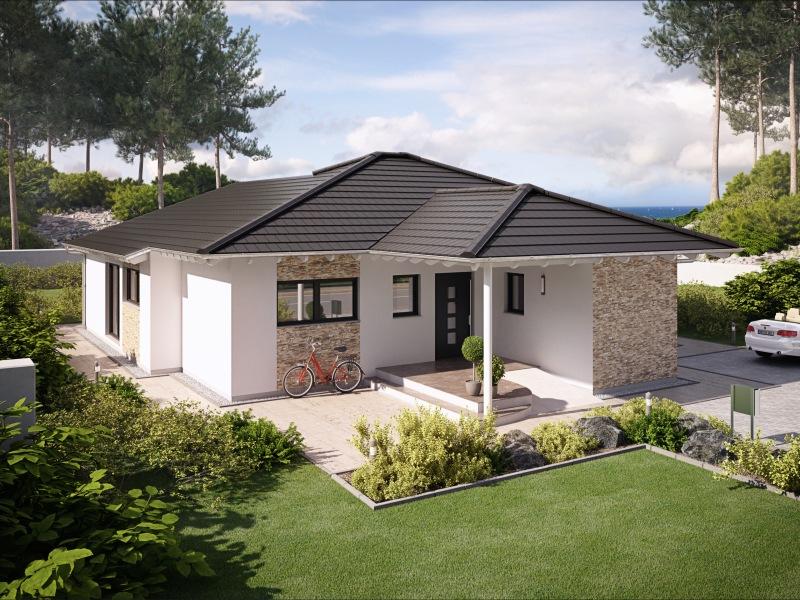 hausbau design award 2014 1 platz bungalows rensch haus. Black Bedroom Furniture Sets. Home Design Ideas