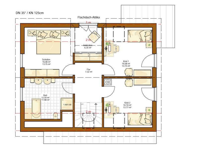 1 platz kategorie klassisch musterhaus oslo von rensch haus. Black Bedroom Furniture Sets. Home Design Ideas