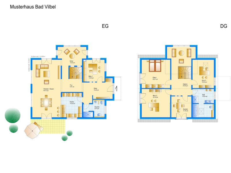 2 euro energie plus musterhaus von schwabenhaus ist bezugsfertig. Black Bedroom Furniture Sets. Home Design Ideas