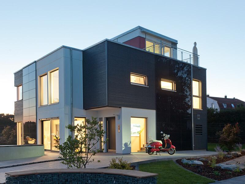 Gewinner des hausbau design awards 2015 for Haus formen