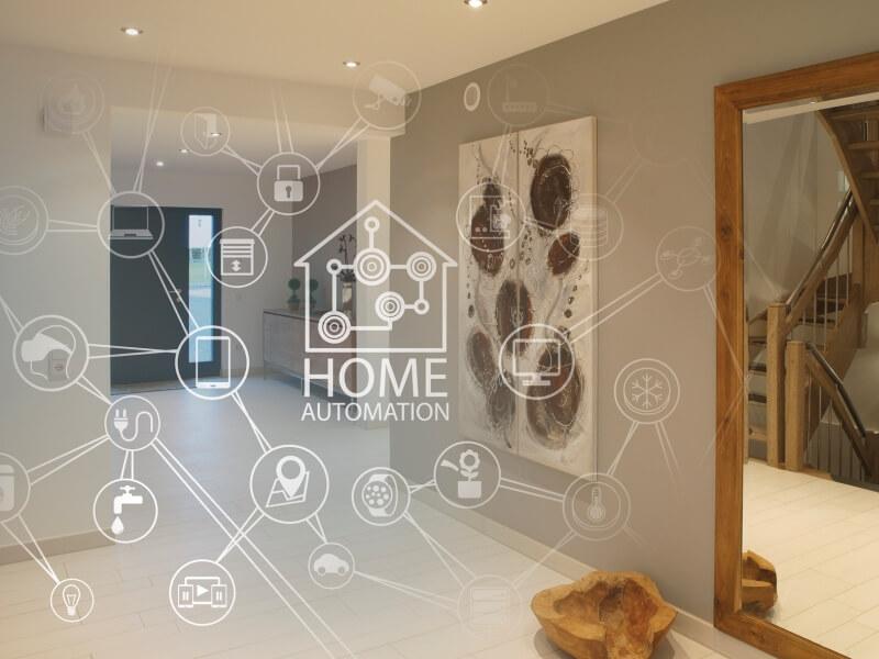 intelligentes wohnen in die zukunft mit einem smart home. Black Bedroom Furniture Sets. Home Design Ideas