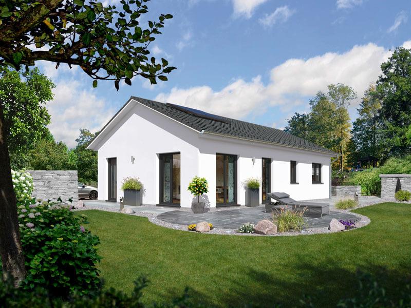 massivhaus von town country bungalow 100. Black Bedroom Furniture Sets. Home Design Ideas