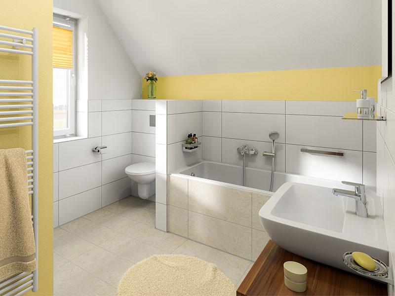 massivhaus von town country flair 125. Black Bedroom Furniture Sets. Home Design Ideas