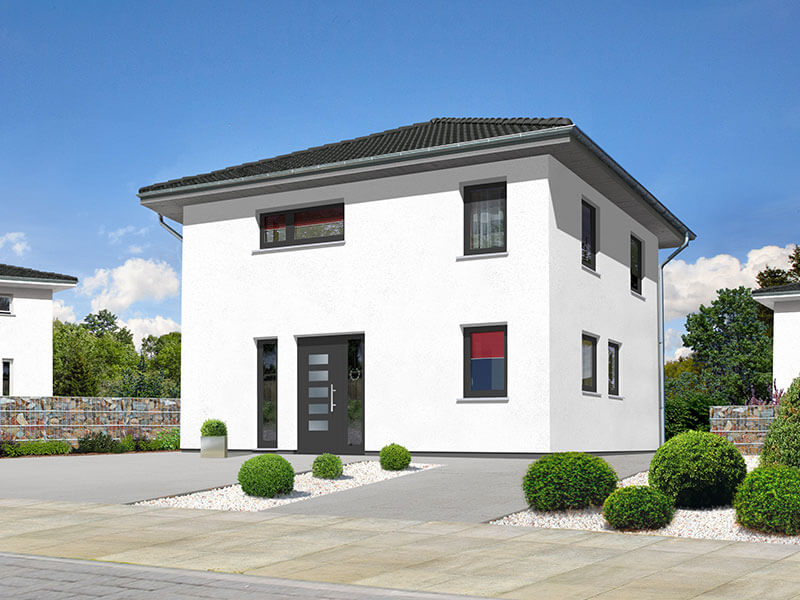 massivhaus von town country stadthaus flair 124 zd. Black Bedroom Furniture Sets. Home Design Ideas