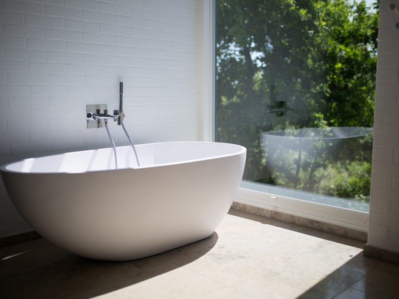 Trend im Badezimmer - Filigrane Keramik