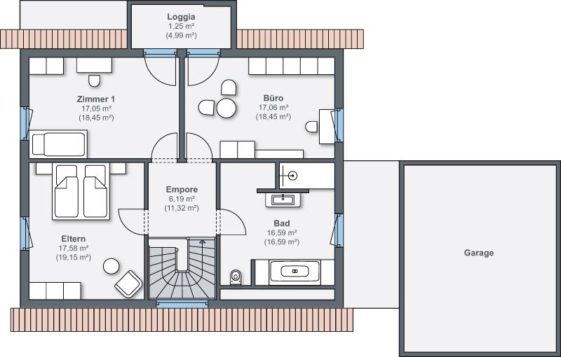 3 platz plusenergieh user haus generation 5 0 von weberhaus. Black Bedroom Furniture Sets. Home Design Ideas