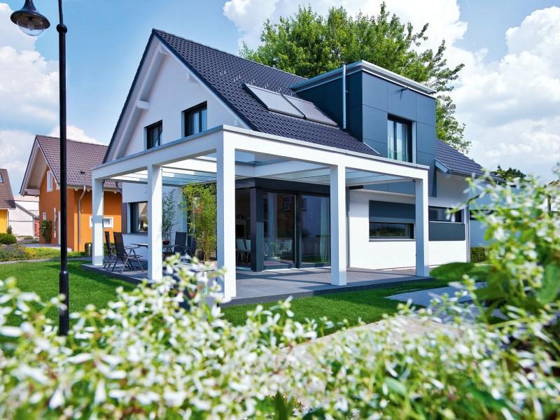 Gr ner energiesparer weberhaus pr sentiert neues haus 300 for Fenster 0 finanzierung