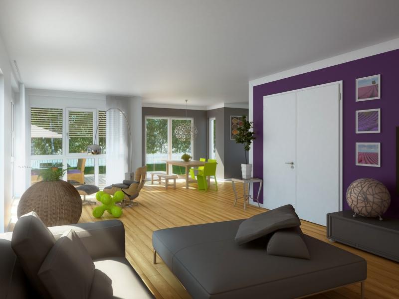 Massa Haus Musterhaus   Wohnraum