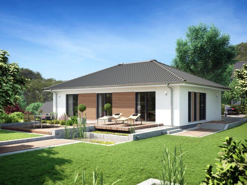 Moderne häuser walmdach  Rensch Haus Flatline R - Wohnen auf einer Ebende