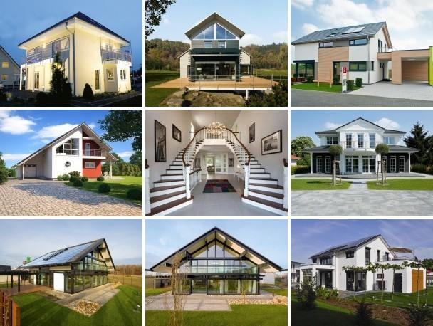 Hausbau-portal.net präsentiert Ihnen die Top Musterhäuser